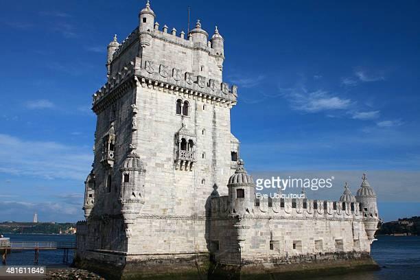 Portugal Estremadura Lisbon Tower of Belem