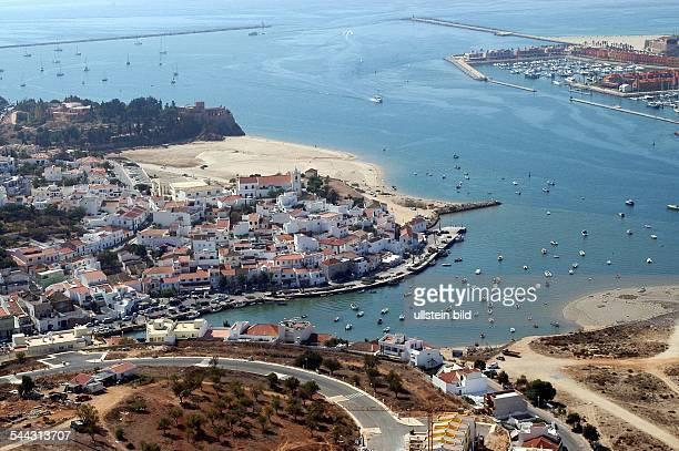Ferragudo und der Yachthafen von Portimao