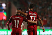 portugal forward andre silva r celebrating