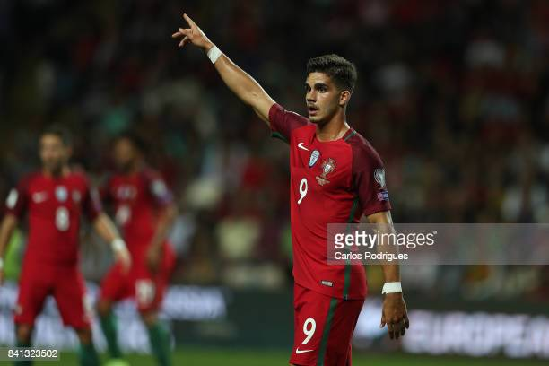 Portugal forward Andre Silva during the match between Portugal v Faroe Islands FIFA 2018 World Cup Qualifier match at Estadio do Bessa on August 31...