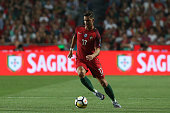 portugal forward andre silva during match