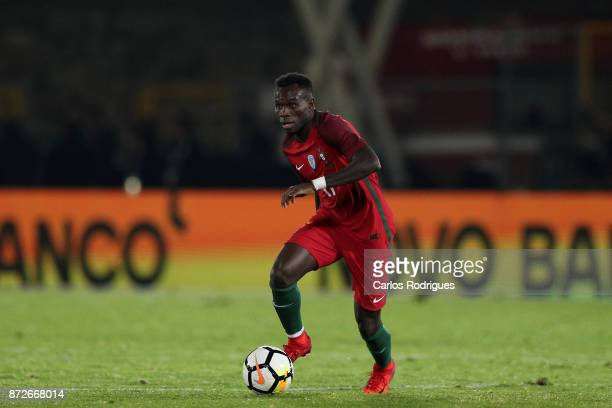 Portugal forward Bruma during the match between Portugal and Saudi Arabia InternationalFriendly at Estadio do Fontelo on November 10 2017 in Viseu...