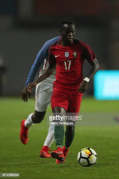 Portugal forward Bruma during the match between Portugal and United States of America International Friendly at Estadio Municipal de Leiria on...