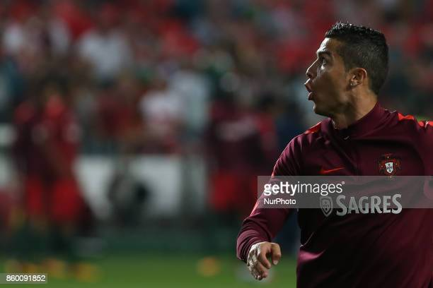 Portugal forward Cristiano Ronaldo during the match between Portugal v Switzerland FIFA 2018 World Cup Qualifier match at Luz Stadium on October 10...