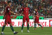 portugal forward cristiano ronaldo during match