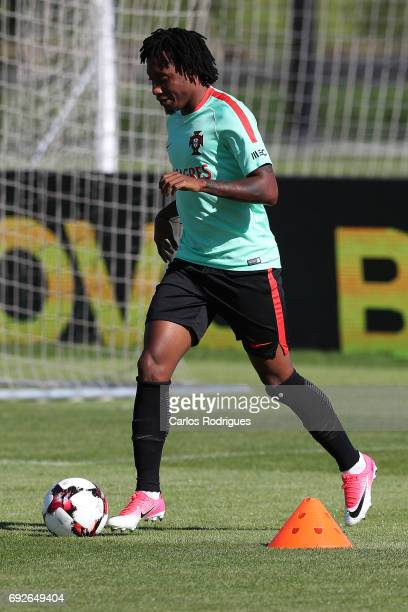 Portugal forward Gelson Martins during Portugal Training Session and Press Conference the at Cidade do Futebol on June 05 2017 in Lisbon Portugal