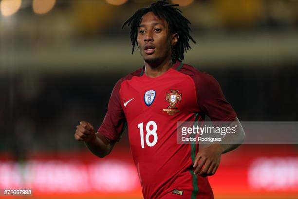 Portugal forward Gelson Martins during the match between Portugal and Saudi Arabia InternationalFriendly at Estadio do Fontelo on November 10 2017 in...