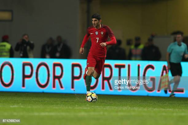 Portugal forward Goncalo Guedes during the match between Portugal and United States of America International Friendly at Estadio Municipal de Leiria...