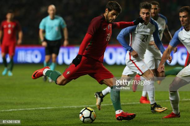 Portugal forward Goncalo Paciencia during the match between Portugal and United States of America International Friendly at Estadio Municipal de...