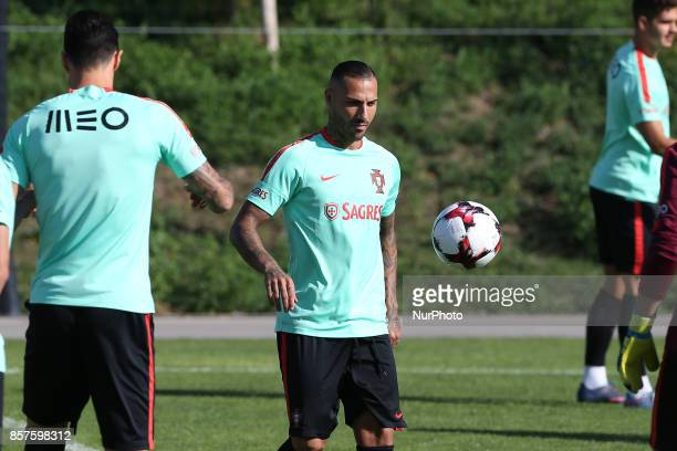 Portugal forward Ricardo Quaresma in action during National Team Training session before the match between Portugal and Andorra at City Football in...