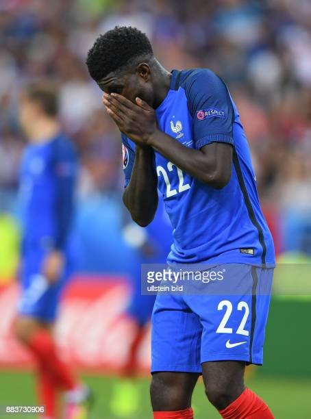 FUSSBALL Portugal Frankreich Samuel Umtiti