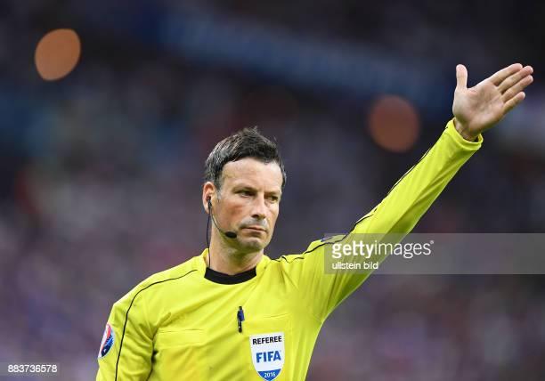 FUSSBALL Portugal Frankreich Schiedsrichter Mark Clattenburg