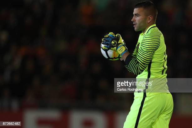 Portugal goalkeeper Anthony Lopes during the match between Portugal and Saudi Arabia InternationalFriendly at Estadio do Fontelo on November 10 2017...