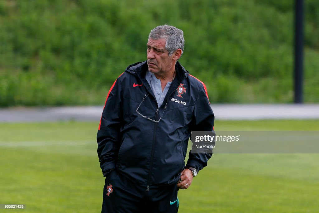 FIFA World Cup Russia: Portugal Training Session : News Photo