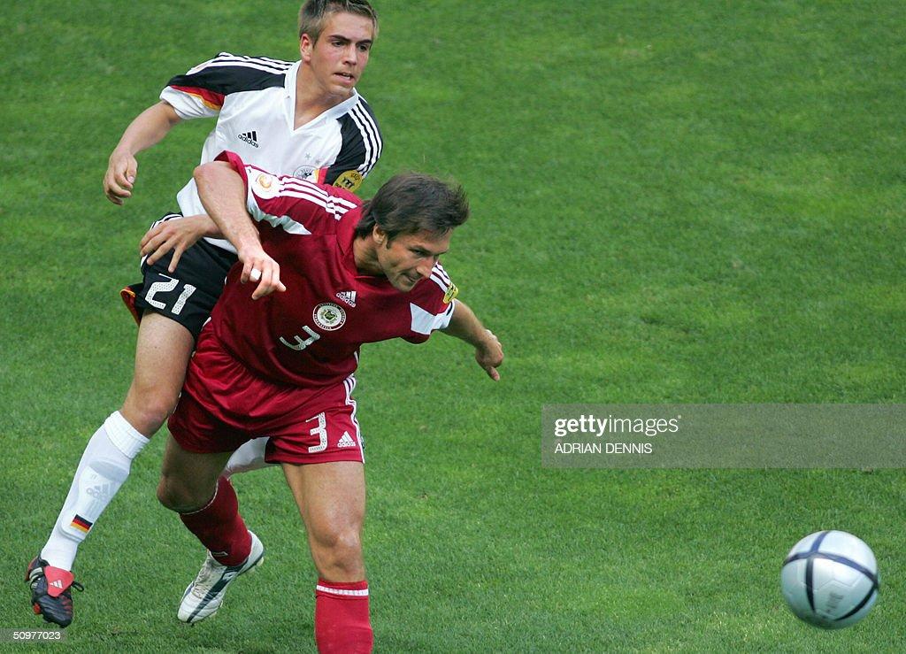 Latvian captain Vitalijs Astafjevs is ta : News Photo