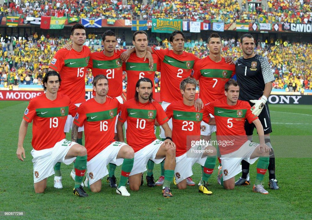 Portugal v Brazil - 2010 FIFA World Cup Group G : Nachrichtenfoto