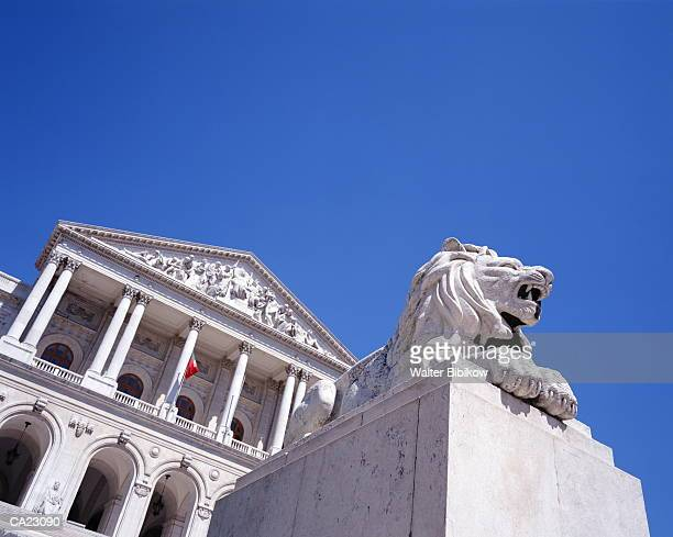 portugal, lisbon, assembleia da republica government building - politics and government imagens e fotografias de stock