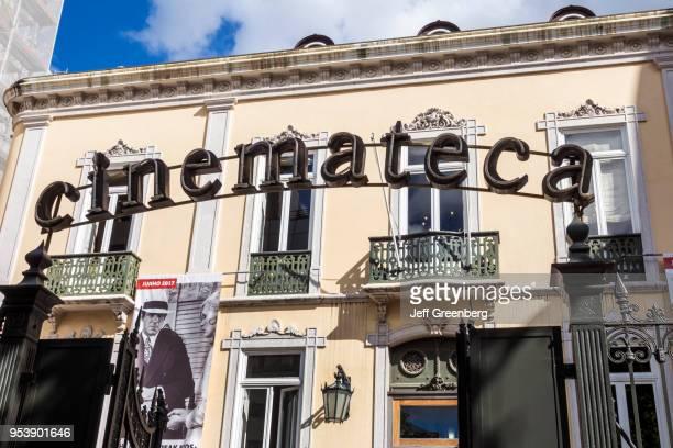 Portugal Lisbon Cinemateca Portuguesa Museu do Cinema Portuguese Film Institute entrance