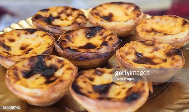 Portugal, Lisbon, Egg tart pastry