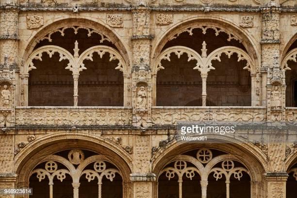 portugal, lisbon, mosteiro dos jeronimos - provincie lissabon stockfoto's en -beelden