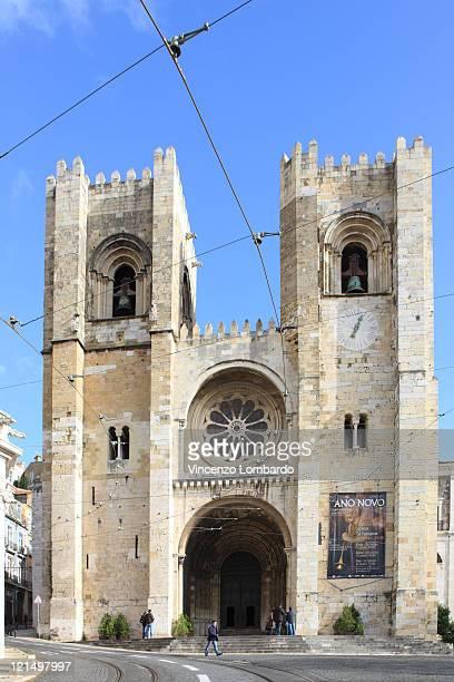 Portugal, Lisbon, Se Cathedral exterior.