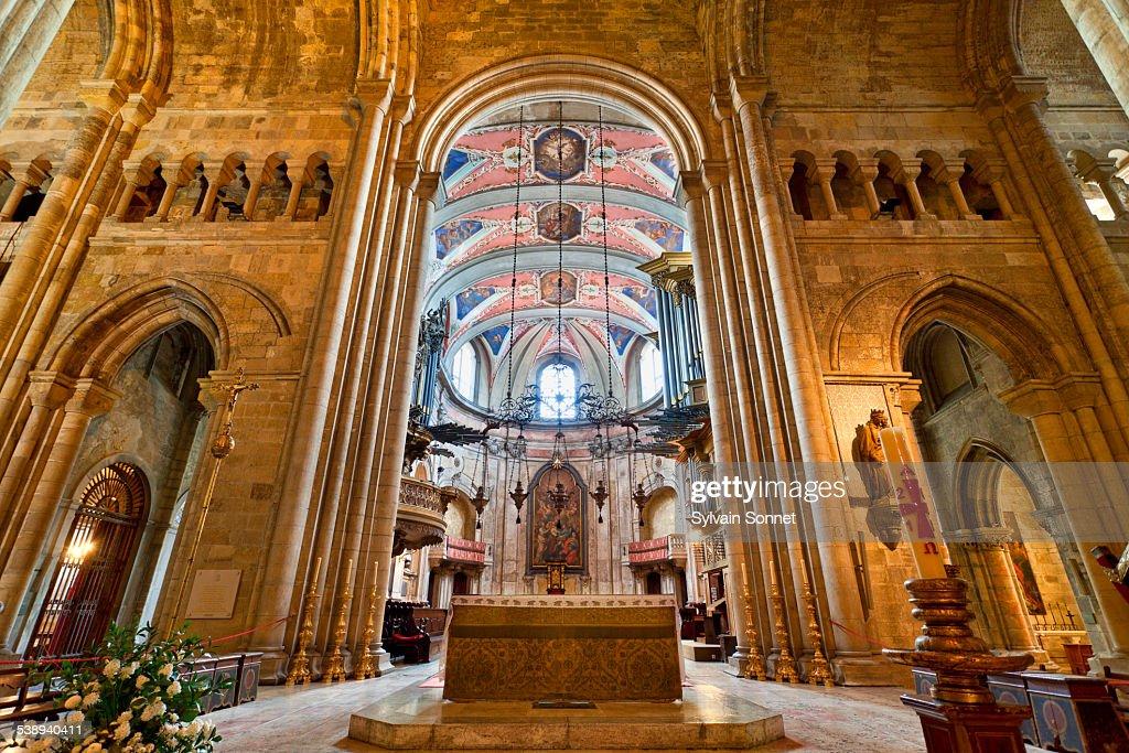 Portugal, Lisbon, Se Patriarcal Cathedral : Stock Photo