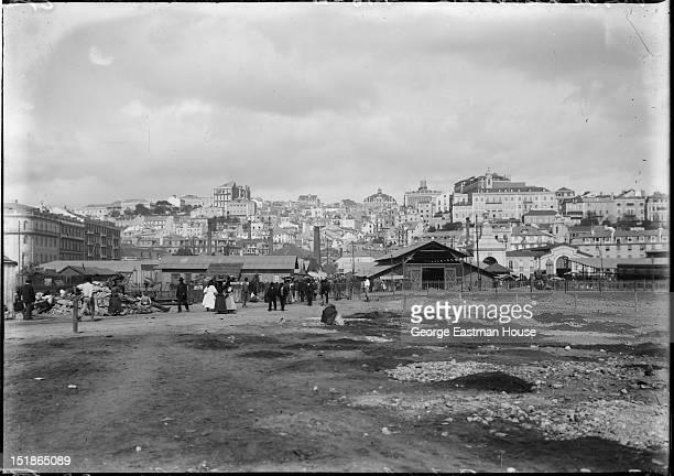 Portugal Lisbonne/Vues de Lisbonne vers le marche au poisson/ between 1900 and 1919
