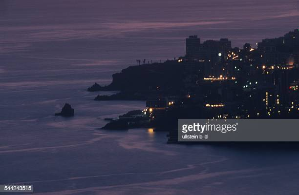 Funchal kurz nach Sonnenuntergang
