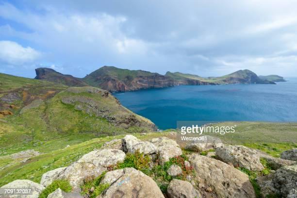 Portugal, Madeira, nature reserve Ponta de Sao Lourenco, peninsula on the east coast