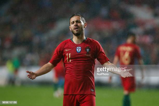 Portugal midfielder Bernardo Silva during the friendly match of preparation for FIFA 2018 World Cup between Portugal and Algeria at the Estadio do...
