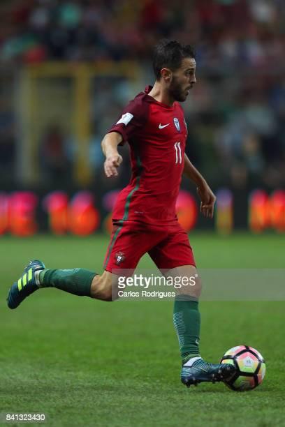 Portugal midfielder Bernardo Silva during the match between Portugal v Faroe Islands FIFA 2018 World Cup Qualifier match at Estadio do Bessa on...