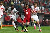 portugal midfielder bernardo silva during match