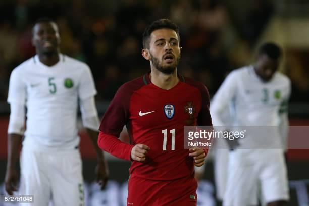 Portugal midfielder Bernardo Silva during the match between Portugal v Saudi Arabia International Friendly at Estadio do Fontelo on November 10 2017...