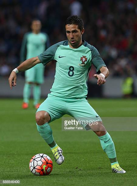 Portugal midfielder Joao Moutinho in action during the International Friendly match between Portugal and Norway at Estadio do Dragao on May 29 2016...