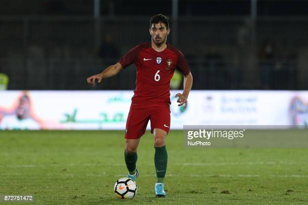 Portugal midfielder Ruben Neves during the match between Portugal v Saudi Arabia International Friendly at Estadio do Fontelo on November 10 2017 in...