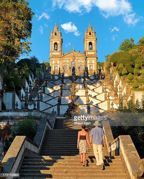 Portugal, Minho, Braga, Bom Jesus Cathedral