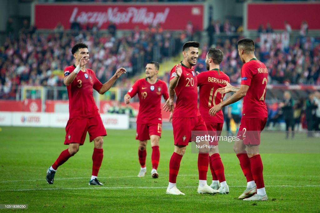 Poland v Portugal - UEFA Nations League A : Nachrichtenfoto