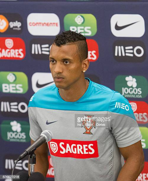Portugal National Team player Nani is part of the team that will be representing Portugal in the upcoming 2014 FIFA World Cup answers questions...