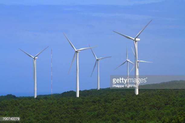Portugal, Nazare. Wind mill.