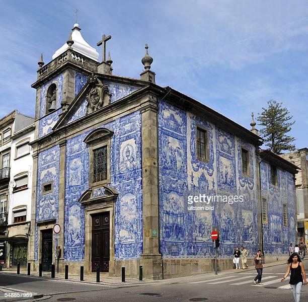 Portugal Norte Porto Chapel 'Santa Catarina' decorated with Azulejos
