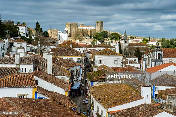 Portugal, Obidos, Small town with castle