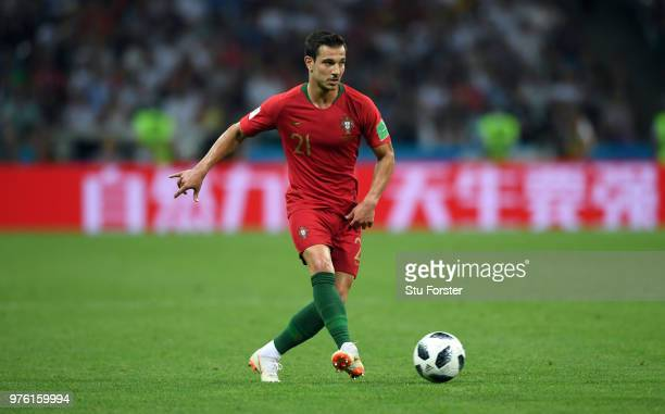 Portugal player Cedric in action during the 2018 FIFA World Cup Russia group B match between Portugal and Spain at Fisht Stadium on June 15 2018 in...
