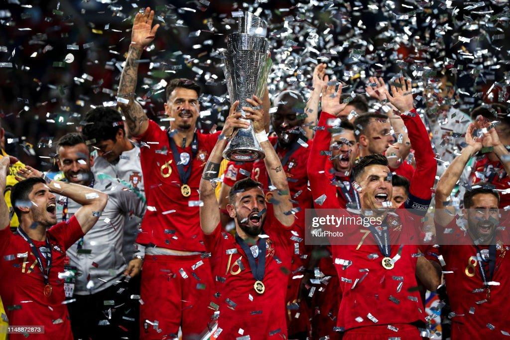 Portugal v Netherlands - UEFA Nations League Final : Fotografia de notícias