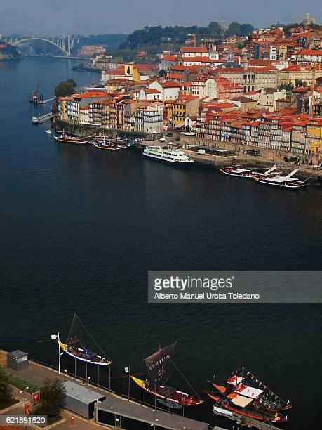 Portugal, Porto, Cais da Ribeira scape