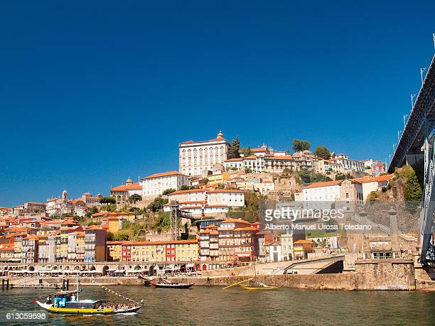 portugal, porto, douro river and riverside - douro river stock photos and pictures