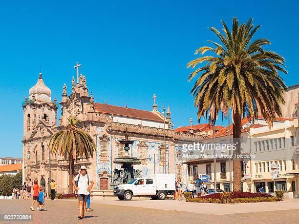 Portugal, Porto, Gomes Teixeira sq. - Igreja do Carmo