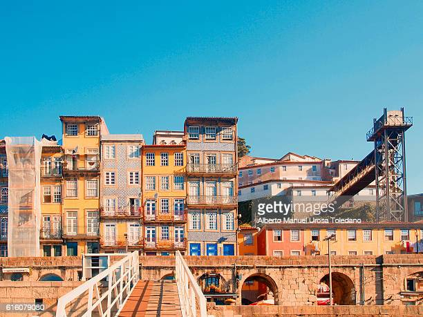Portugal, Porto, Houses at the  Ribeira do Douro