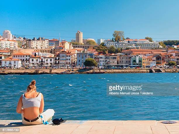 Portugal, Porto, Riverside of Vila Nova do Gaia