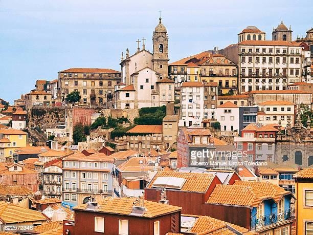 Portugal, Porto, Rua  Cityscape of Rua das Flores area