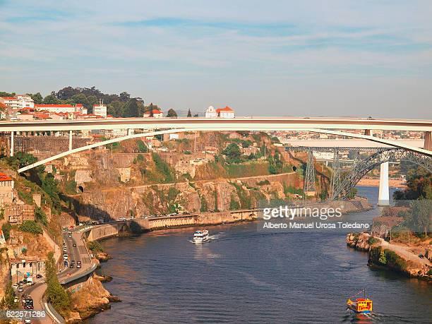 Portugal, Porto, The Infant Henrique Bridge